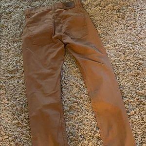 dickie's khaki skinny pants size 28x30